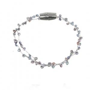 Bransoletka B1H70373-3 (naturalna perła rzeczna)